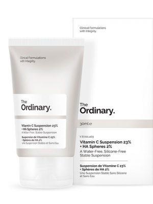 The Ordinary – Vitamina C Suspension 23% + HA Spheres 2%