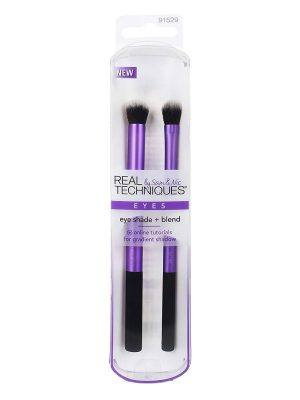 Real Techniques – Pinceles Duo Pack Eye Shade Blend cod 91529
