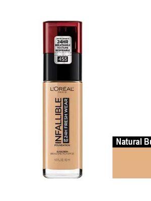 Loreal – Infallible Fresh Wear 24H tono natural buff