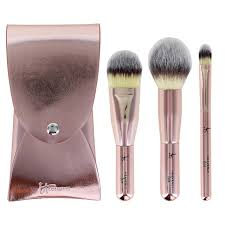 It Cosmetics- Celebrate on -the-go brushes  (set mini brochas)