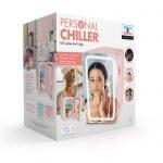 Personal Chiller  – Mini nevera con espejo y luz