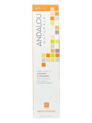 Andalou Naturals – LIMPIADOR CREMOSO BRIGHTENING MEYER LEMON + C