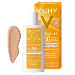 VICHY -PROTECTOR SOLAR CAPITAL SOLEIL TINTADO 100% MINERAL SPF 60